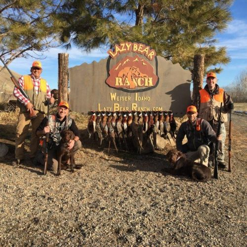 Petra December Pheasant Hunt